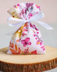 Medvilniniai maišelis dovanoms pakuoti